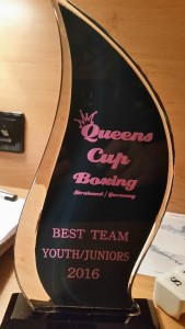 Ireland will be brining home the Best Team Award from the Queens Cup