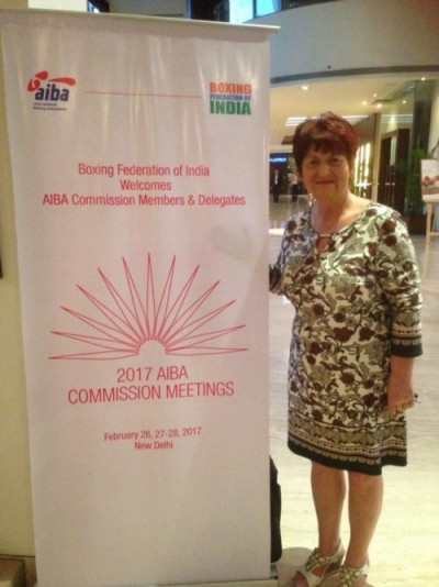 Anna Moore in New Delhi yesterday