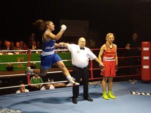 Grainne Walsh celebrates victory